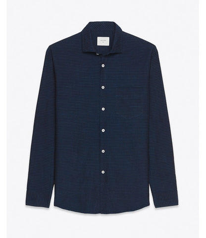 Billy Reid John T Shirt Indigo