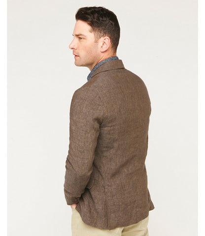Billy Reid Lexington Jacket Tan