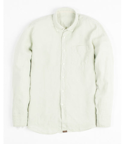 Billy Reid Jonathon Shirt White