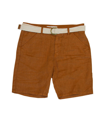 Life After Denim Maldives Rust Linen Short