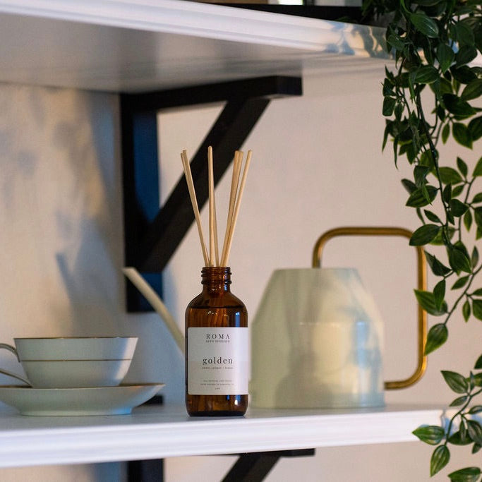 Golden Reed Diffuser
