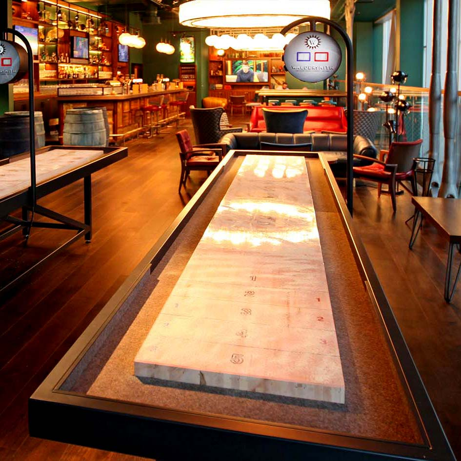 Slide on Down- The Shuffleboards are in town!
