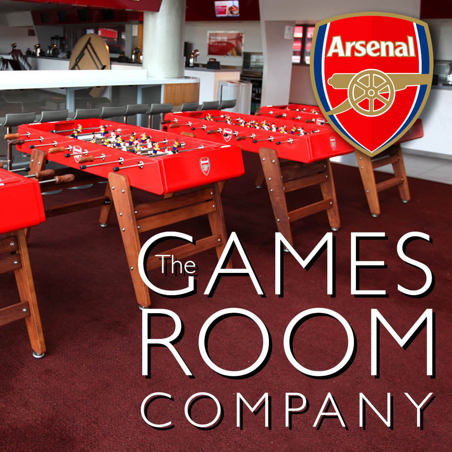 We install 4 bespoke football tables at Arsenal