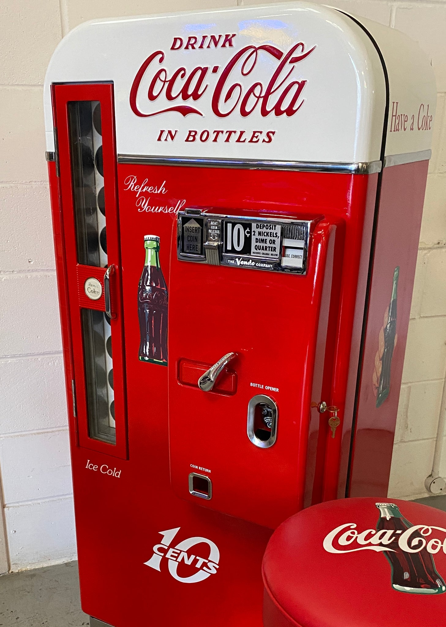 Vintage drinks machines to cool you off after this summer