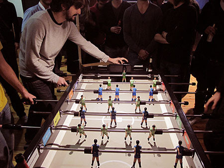 Five great ways to switch up your table football game