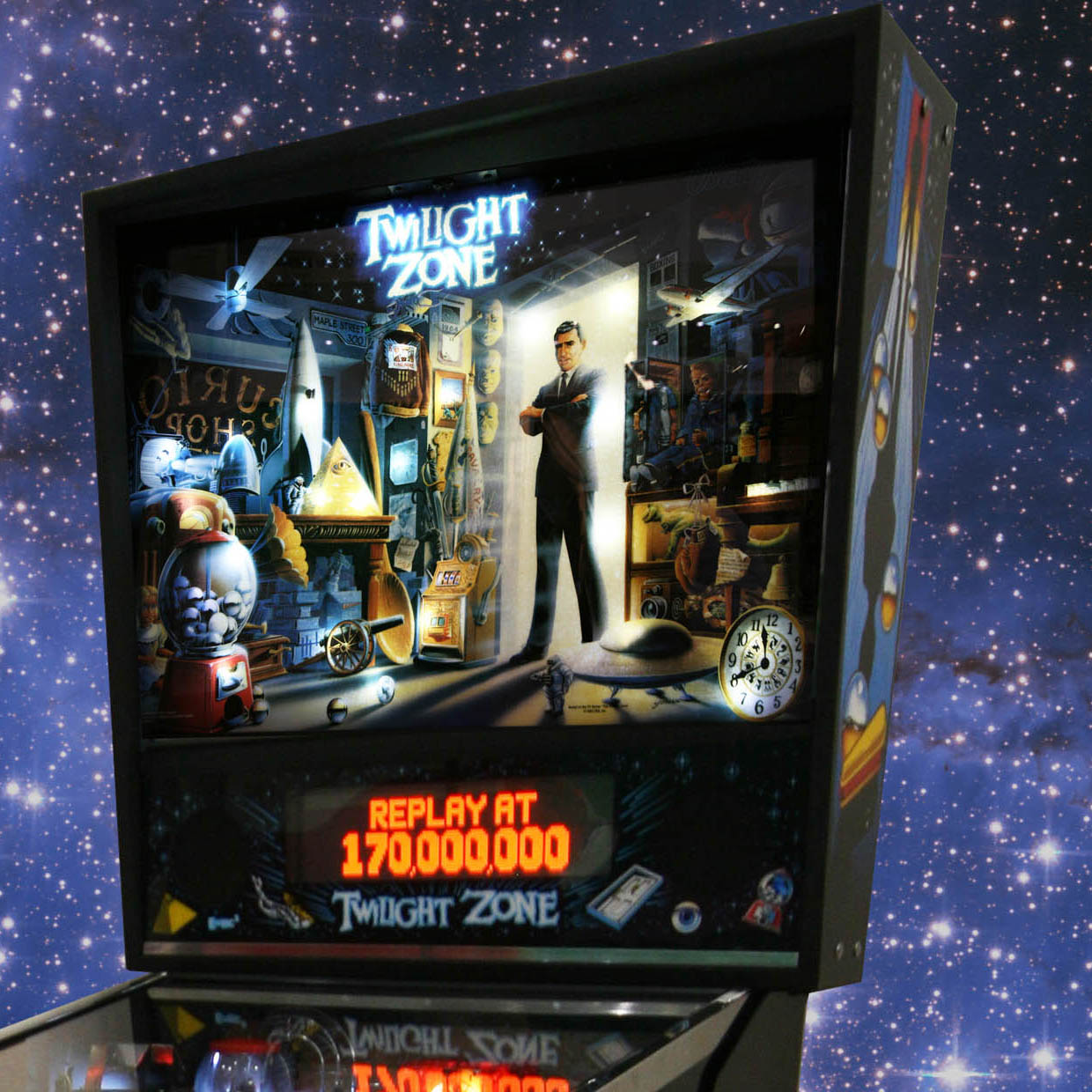 The Twilight Zone Pinball table is out of this world!