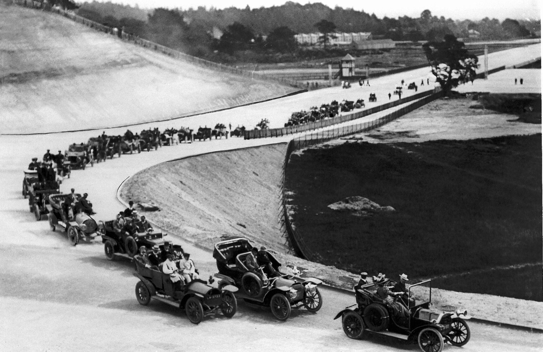 How Brooklands became the birthplace of British motorsport