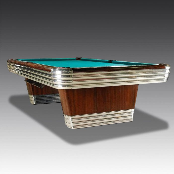Find out about our stunning, art deco 1940s pool table