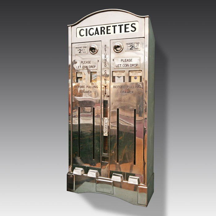 Spark up your living room - how a vintage cigarette machine will add some retro charm to your home