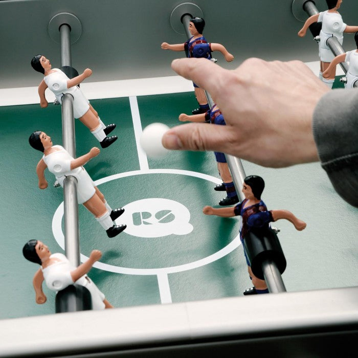 Playing table football to win: how to practice control