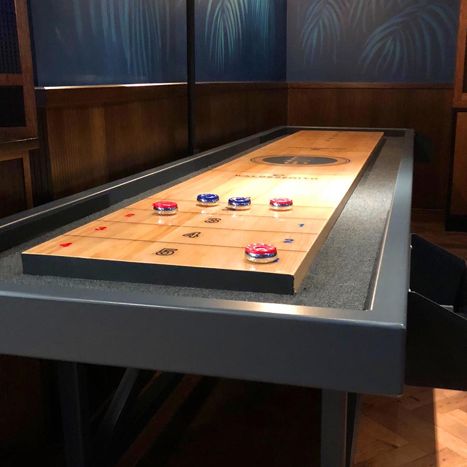 Two New Shuffleboards for Tower 42