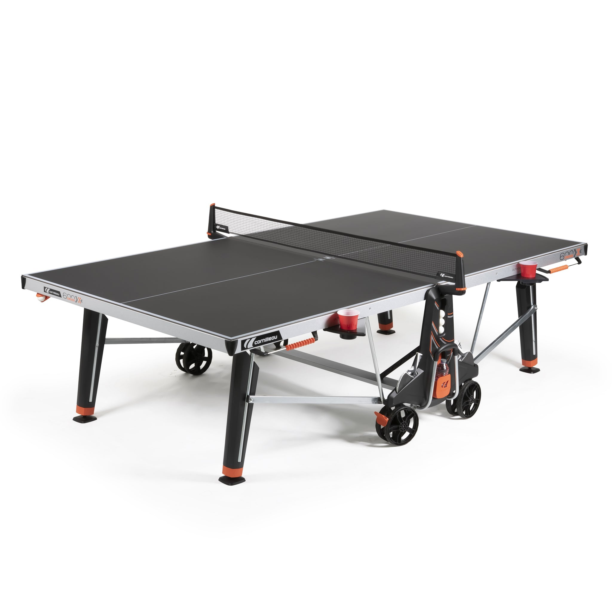 Cornilleau Sport 600X Outdoor Rollaway Table Tennis