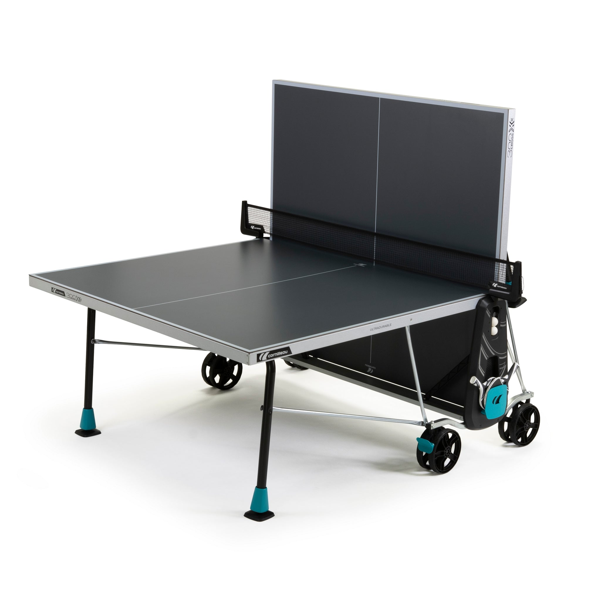 Cornilleau Sport 300X Outdoor Rollaway Table Tennis