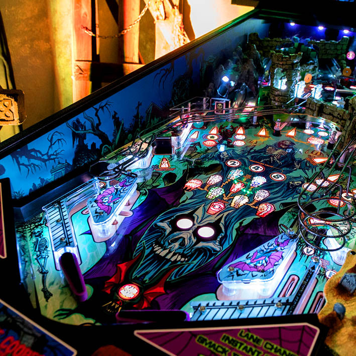 Alice Cooper's Nightmare Castle Pinball Machine by Spooky Pinball