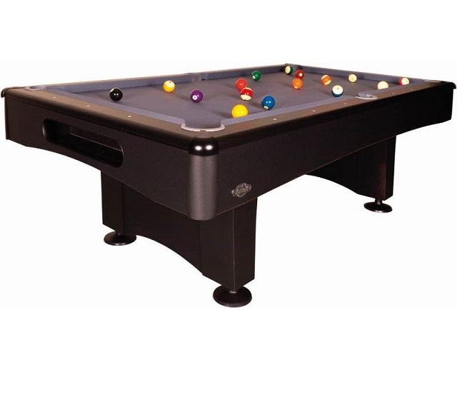 Sam Leisure Eliminator II American Pool Table in Black and Slate Grey 7ft, 8ft