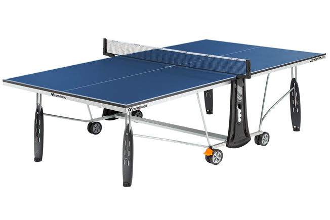 Cornilleau Sport 250 Rollaway Indoor Table Tennis Table in Blue