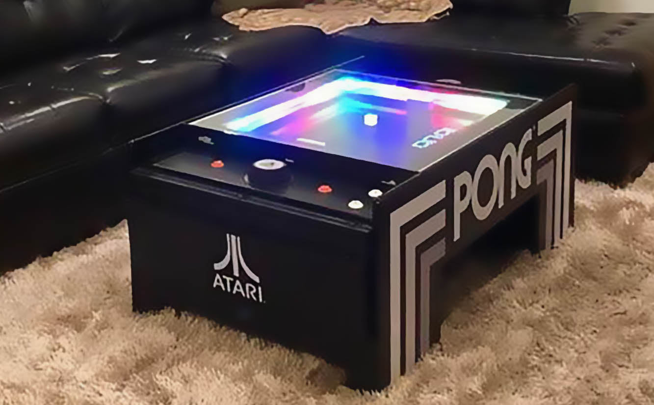 Atari Pong Coffee Table Game