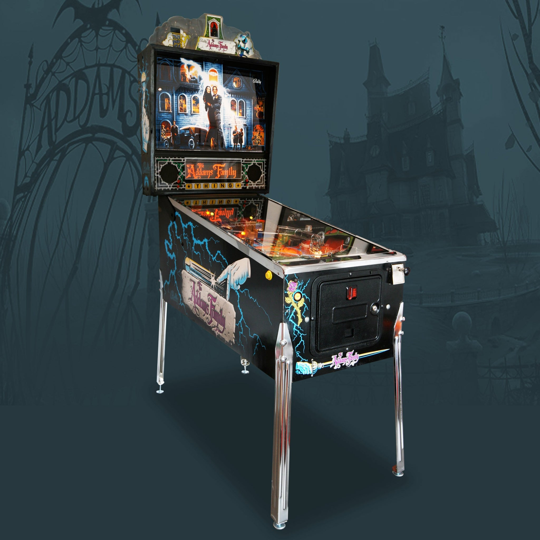 1992 Addams Family Pinball Machine by Bally