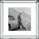 James Bond Goldfinger DB5 Mirror Frame Picture