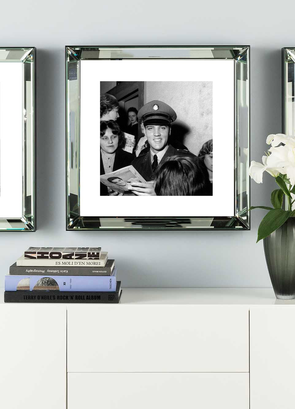 James Bond, Thunderball Casino  Mirror Frame Picture