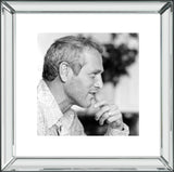 Paul Newman Mirror Frame Picture