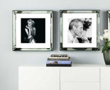 Marilyn Monroe Reading Mirror Frame Picture