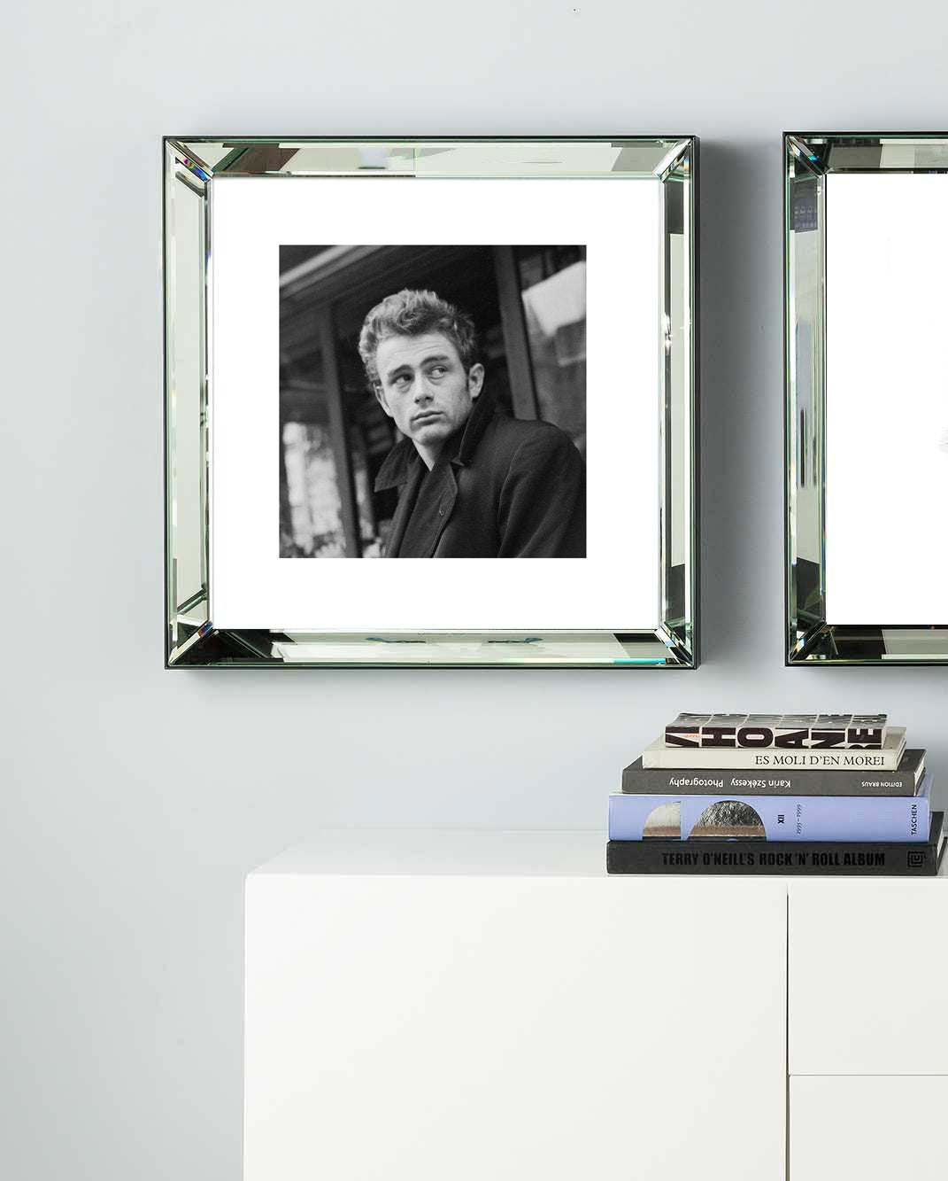 James Dean Mirror Frame Picture