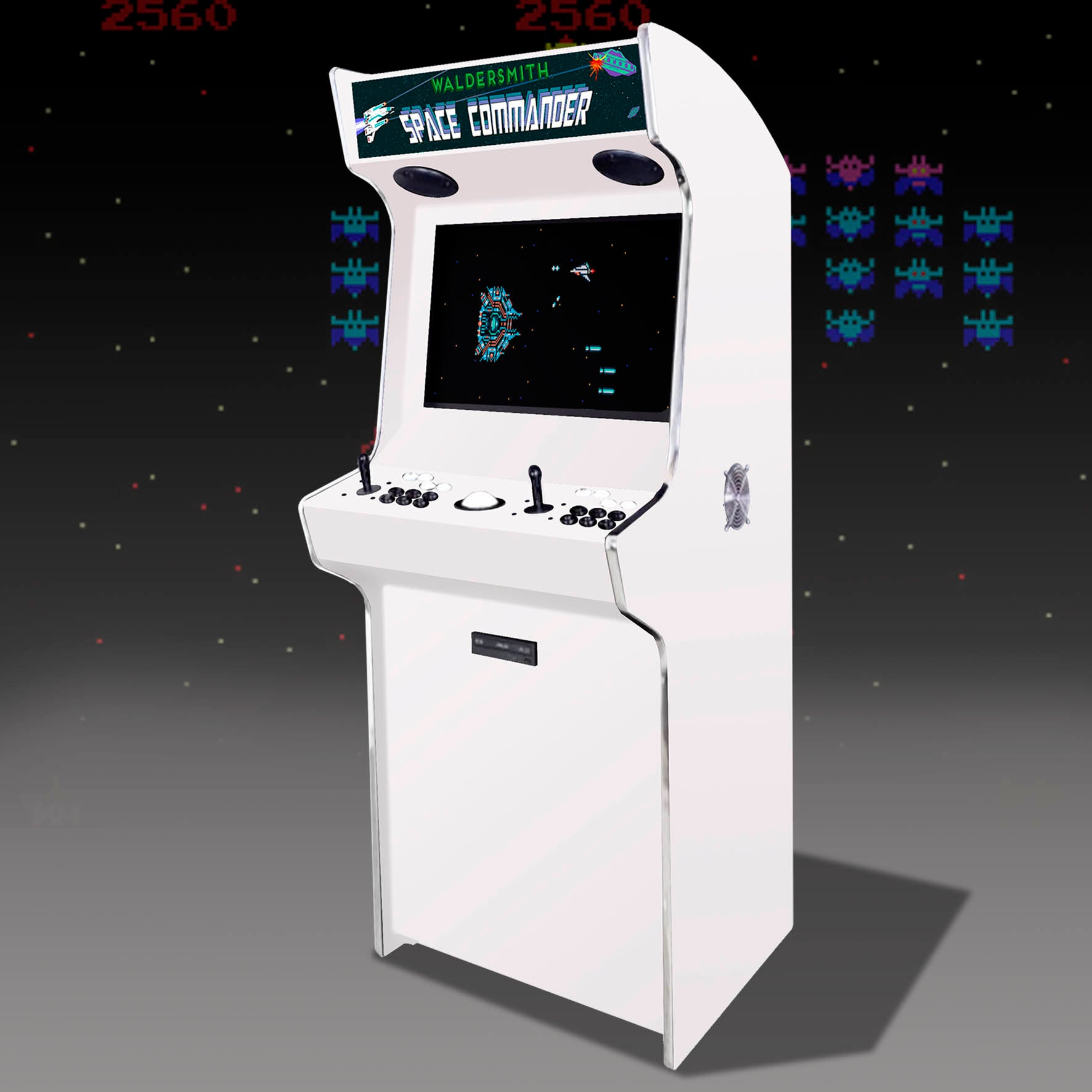 Waldersmith Space Commander Arcade Machine