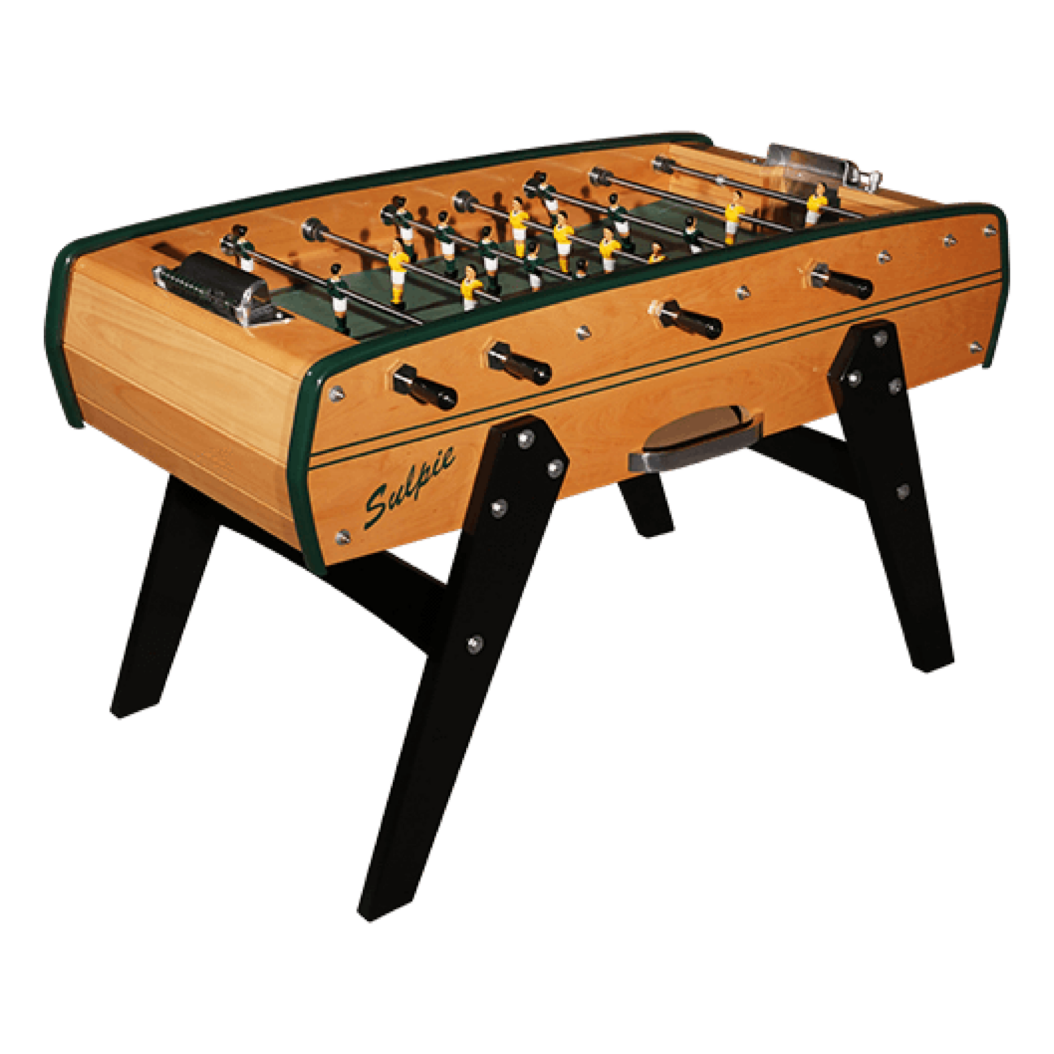 Sulpie Evolution Foosball Table with Green Trim