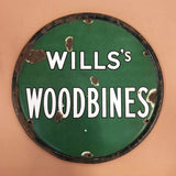 Woodbines Vintage Old Style Wall Sign