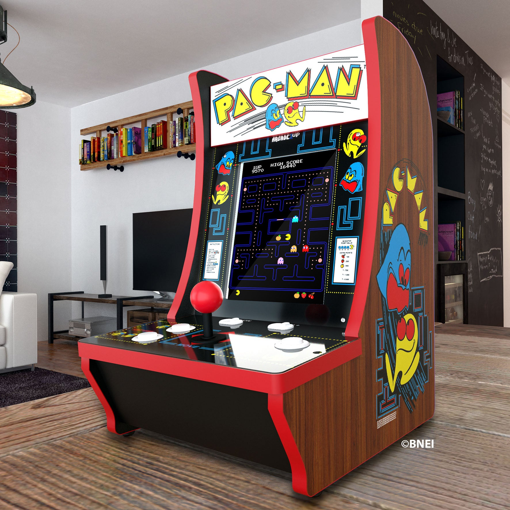 Pac-Man™ 40th Counter-cade Arcade