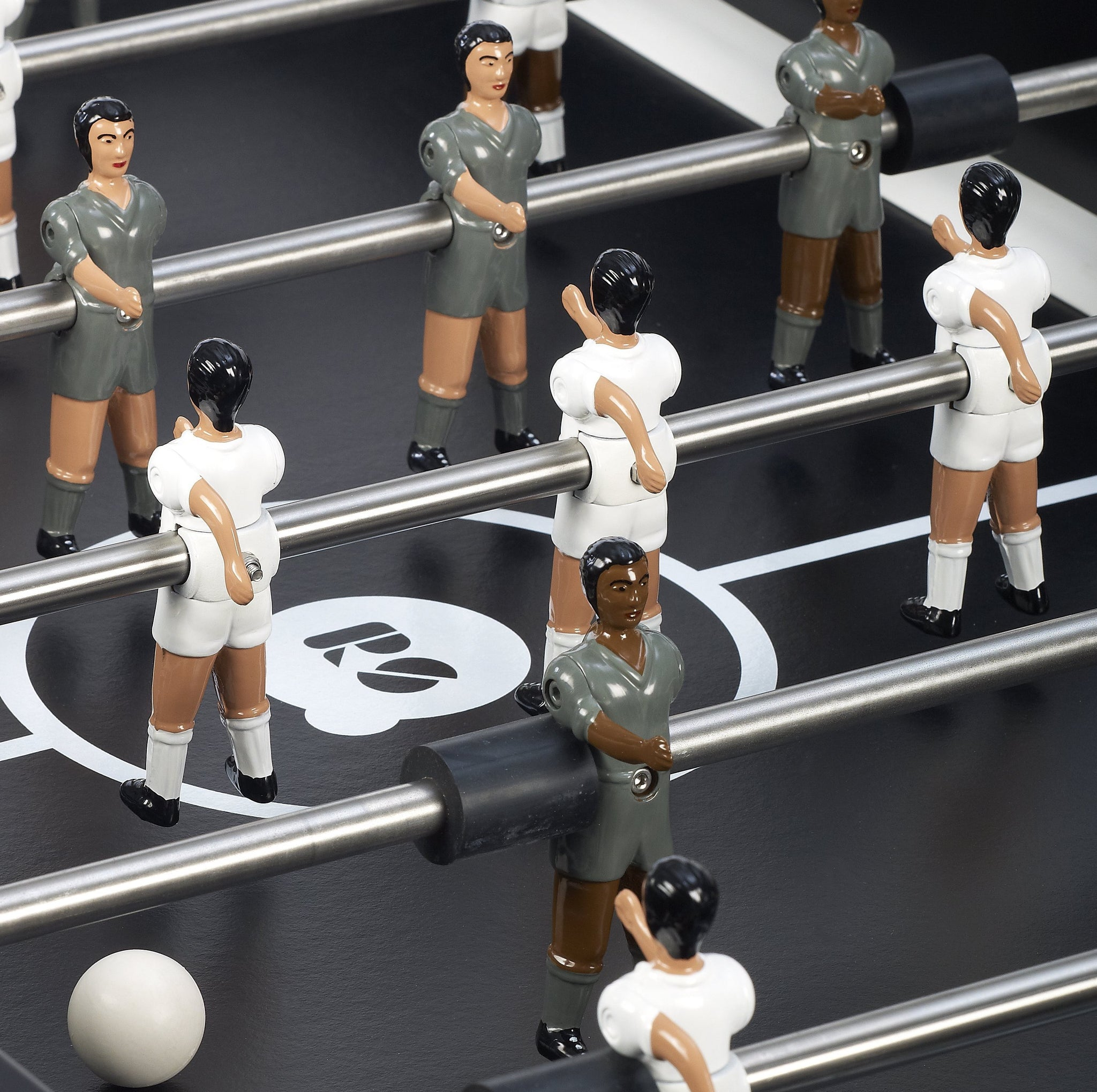 RS2 Black Indoor Foosball Table