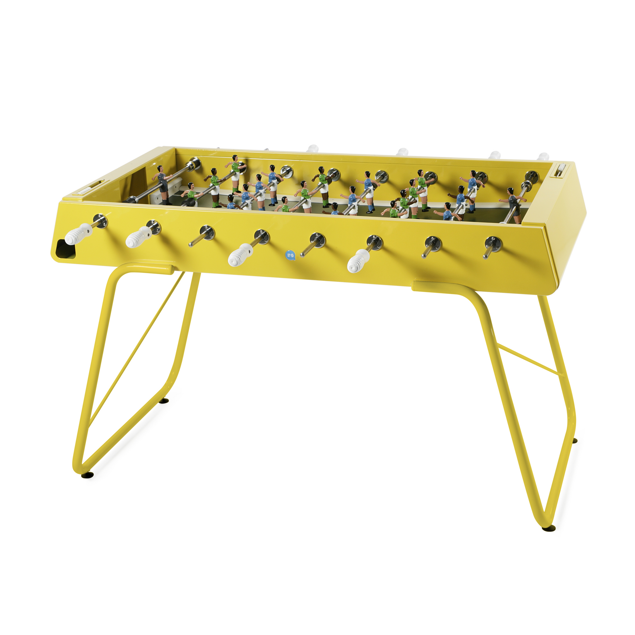 RS3 Foosball Table in Yellow
