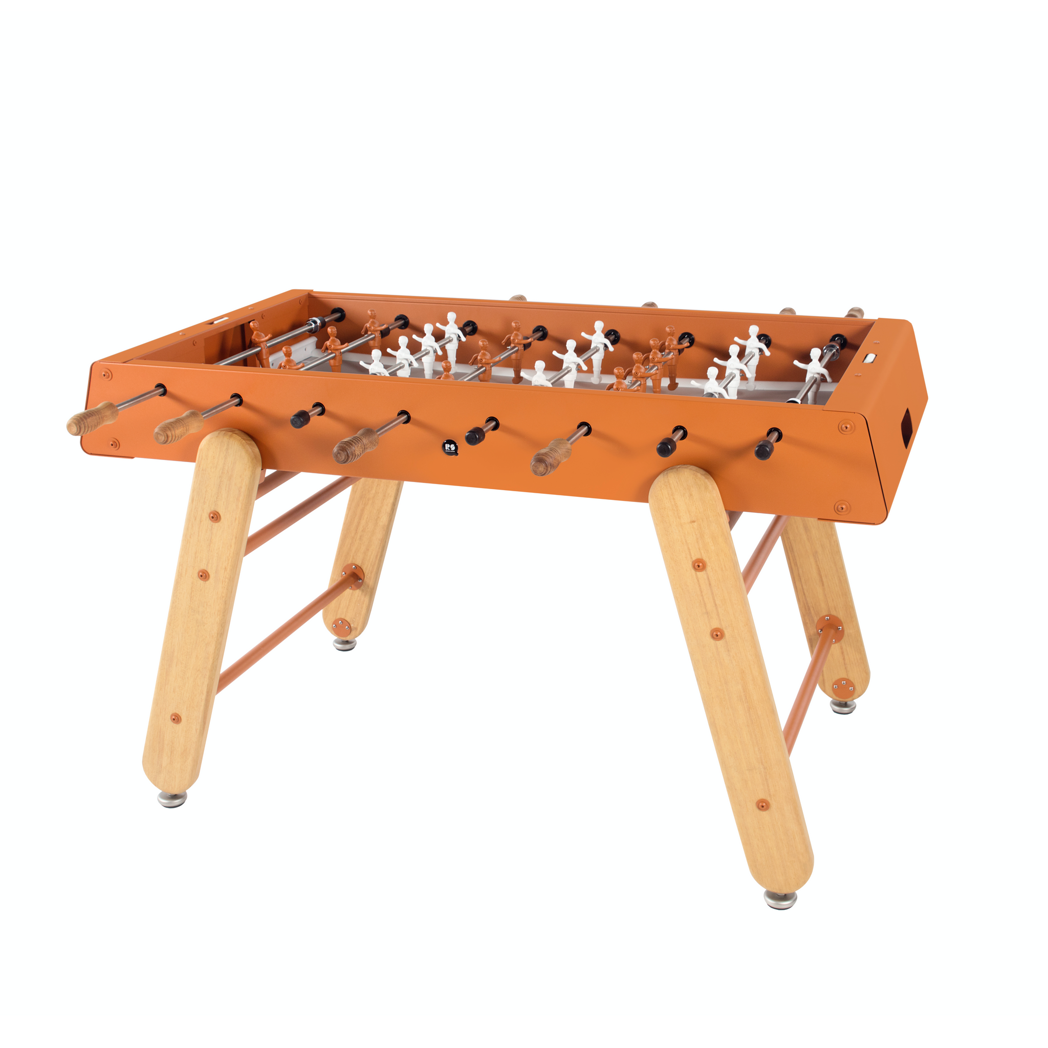 RS4 Home Wood Foosball Table in Terracotta