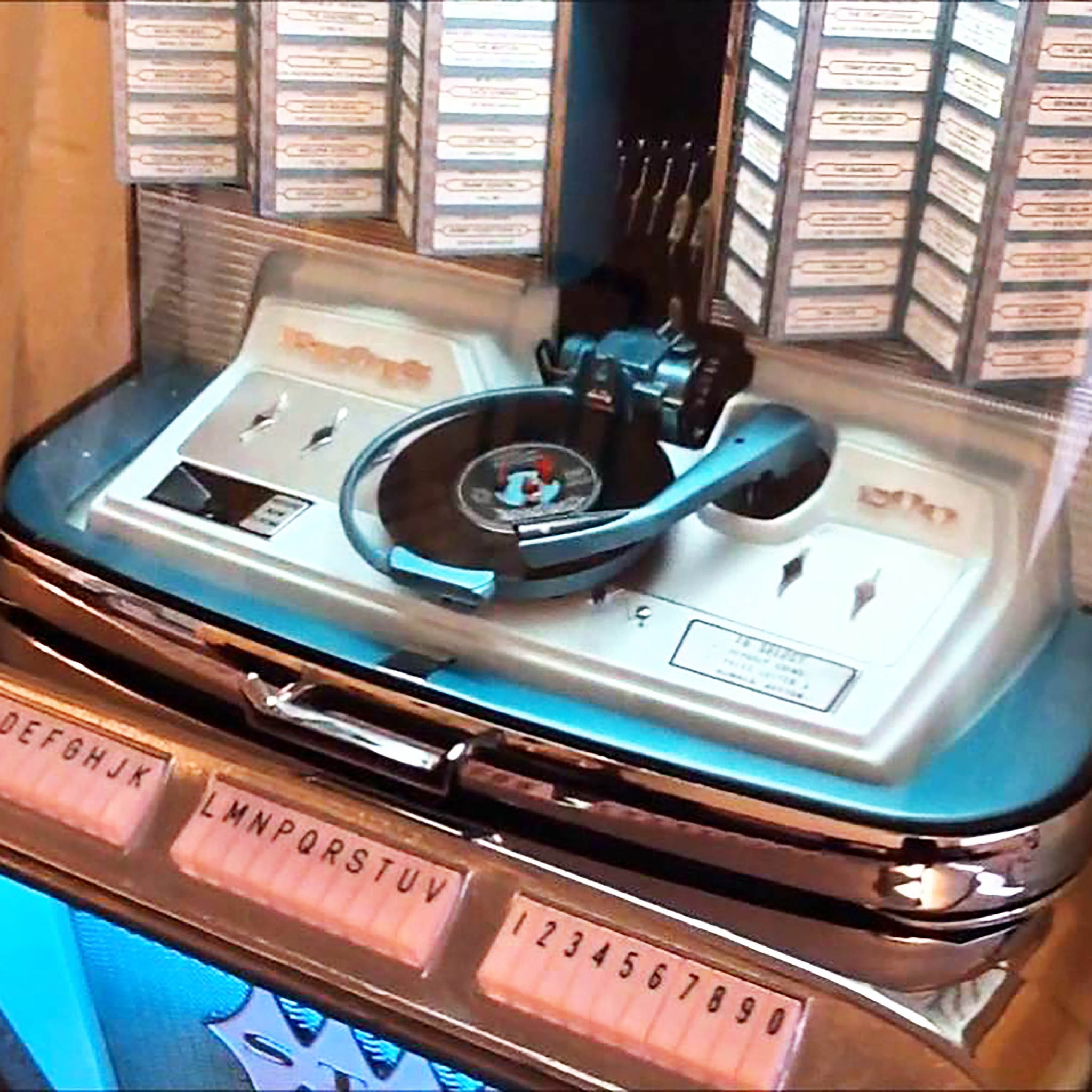 Original 1961 Rock-Ola Regis 1495 Jukebox