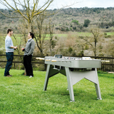 RS2 Outdoor Foosball Table in Stainless Steel