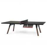 You and Me Tournament Size Table Tennis in Black