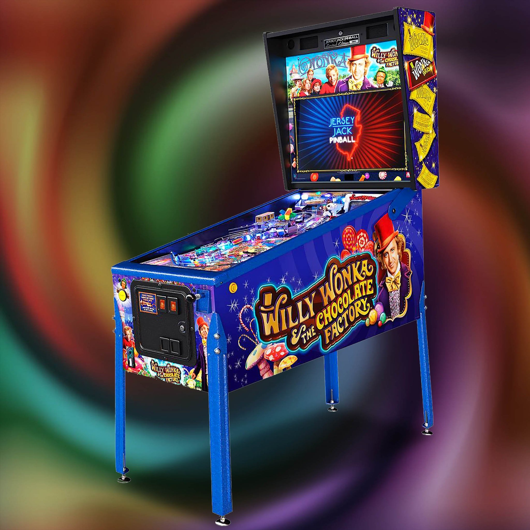 Willy Wonka Pinball Machine 'Limited Edition'