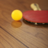 You and Me Tournament Size Table Tennis in Walnut & White
