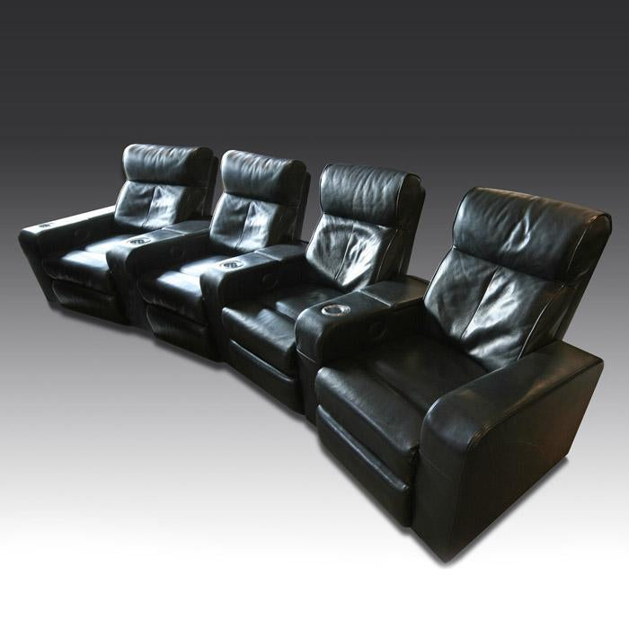 Premiere Leather Cinema Seat (4 seater)