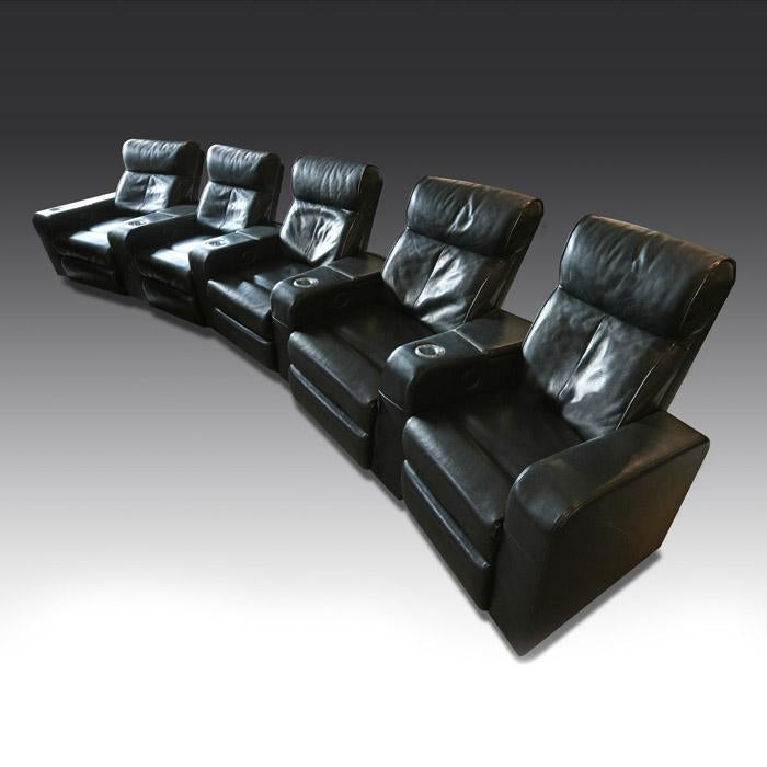Premiere Leather Cinema Seat (5 seater)