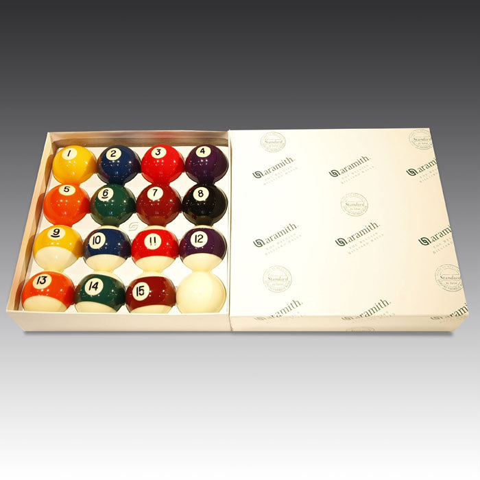 American Aramith Pool Balls – Spots and Stripes