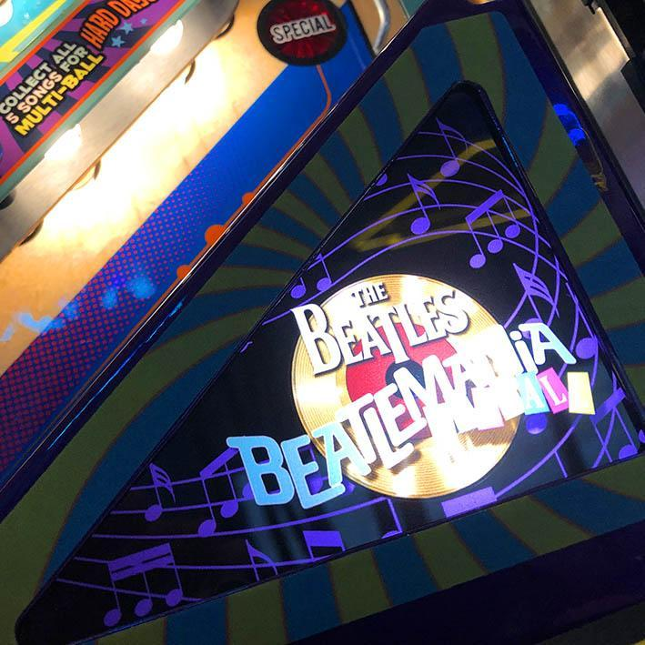 The Beatles Platinum Edition Pinball Machine