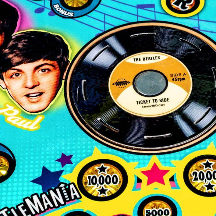 The Beatles Diamond Edition Pinball Machine