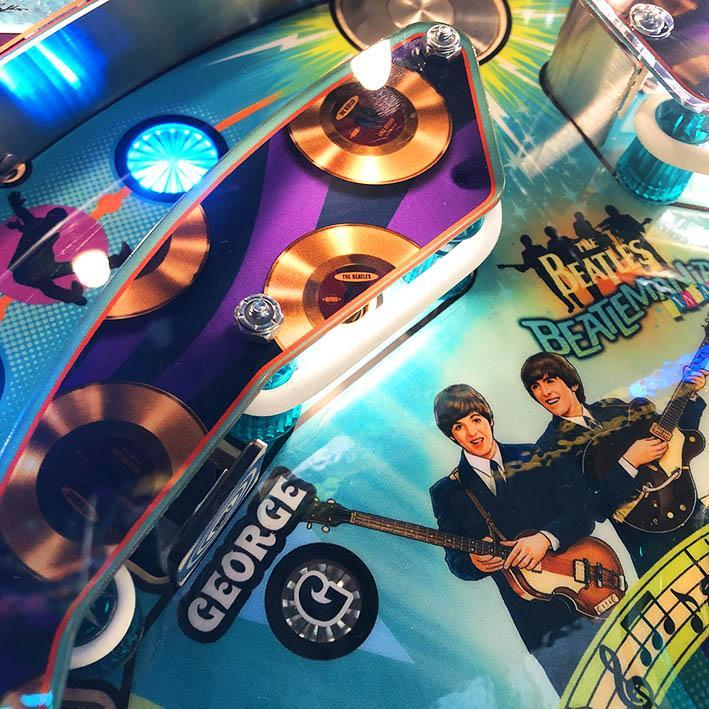 The Beatles Platinum Edition Pinball Machine by Stern