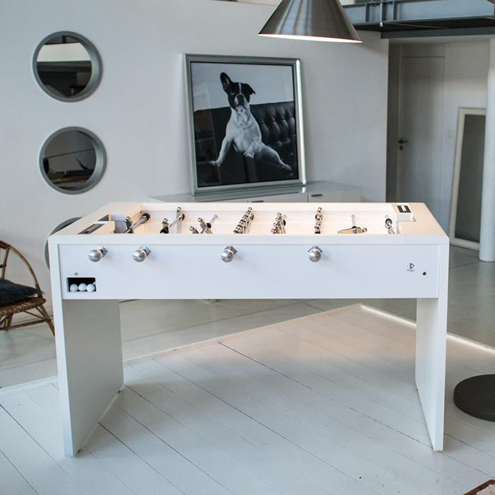 Debuchy T11 Foosball Table in White
