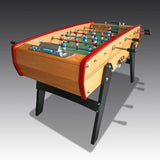 Sulpie 'Evolution' Foosball Table with red trim