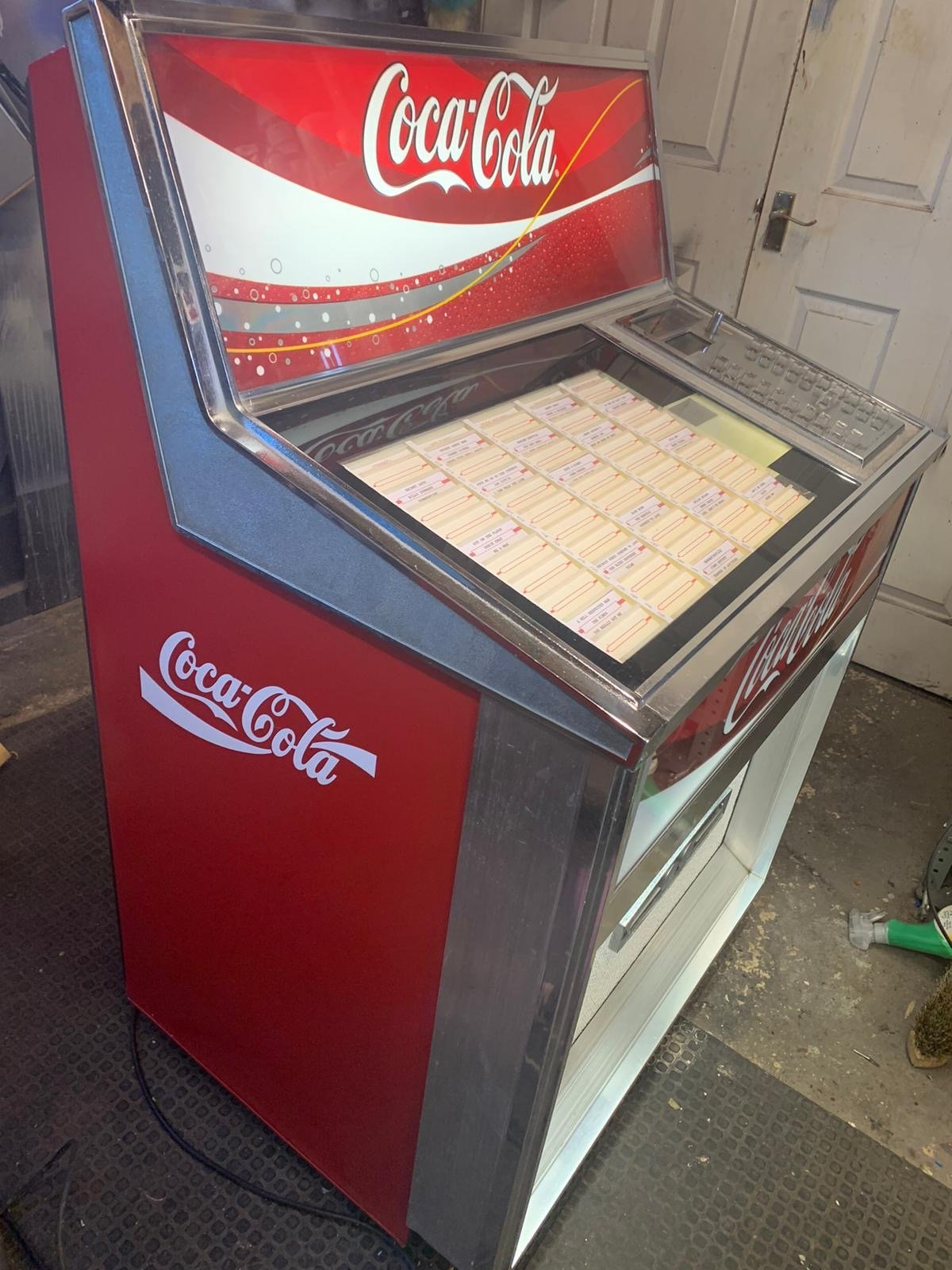 Rock-Ola 435 Coca-Cola Vintage Jukebox