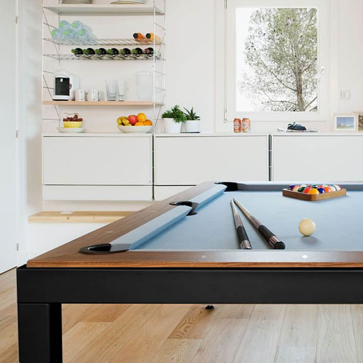 Aramith Fusion Pool Dining Table in Black