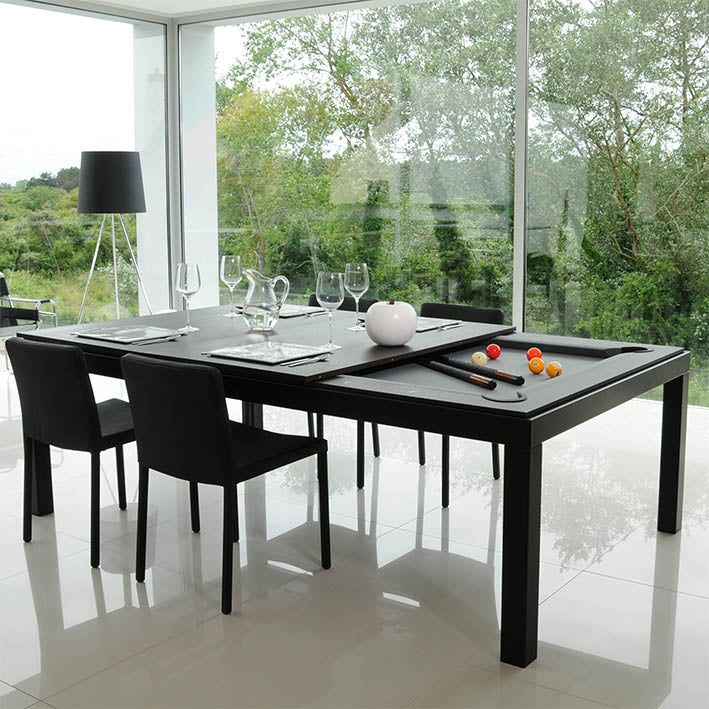 7.5 ft Aramith Fusion Pool Diner in Black